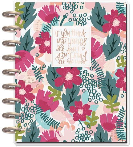 2019 Classic Happy Planner® - Forget Me Not (mom horizontal)