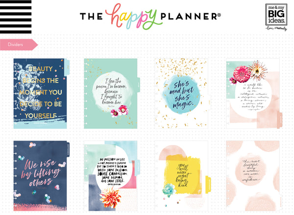 2019 Classic Happy Planner® - Empowered Woman (lined vertical)