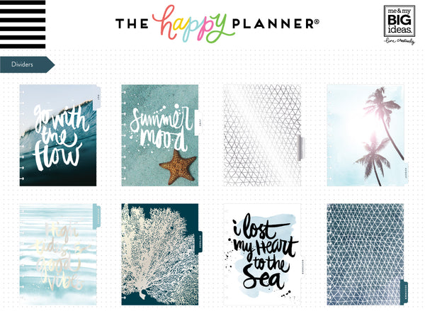 2019 Classic Happy Planner® - Coastal (vertical)