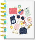 2019 Classic Happy Planner® - Wanderlust (horizontal) - 12 Months (2019-2020)