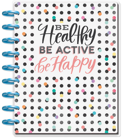 2019 Deluxe Classic 12 Month Planner - Healthy Hero (fitness layout)
