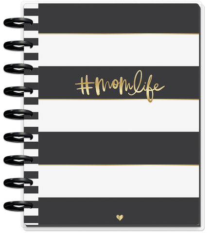 2019 Deluxe Classic 12 Month Planner - Super Mom (dashboard layout)