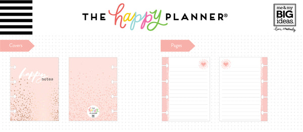 Micro Happy Notes™ - Lined Memo Book