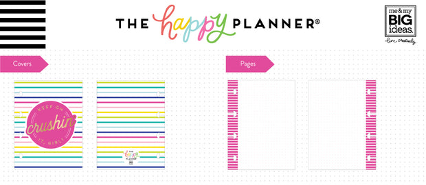 Micro Happy Notes™ - Memo Book - Crushin'