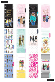 Skinny Mini Happy Planner® - Rongrong Girls Can - 12 Months