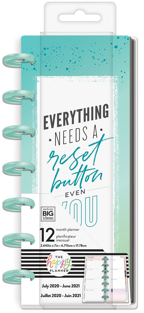Skinny Mini Happy Planner® - Almost Everything - Digital Detox - 12 Months