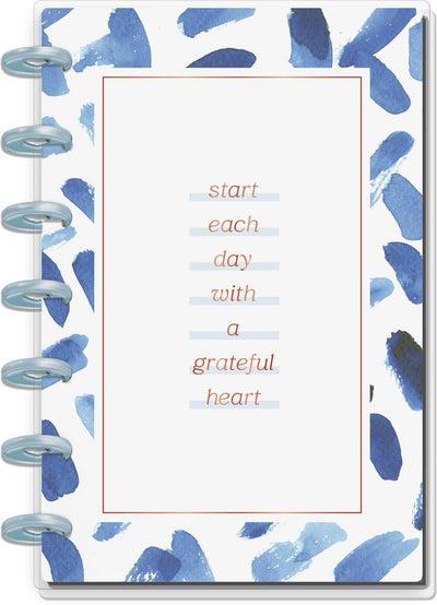 Indigo Tie Dye Mini Happy Notes Notebook