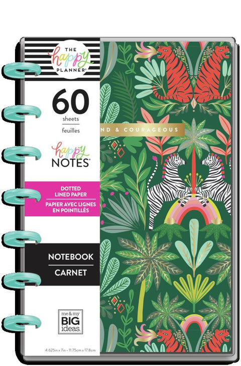 Jungle Vibes Mini Happy Notes Notebook