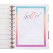 2021 Learn Calligraphy Big Horizontal Happy Planner® - 12 Months