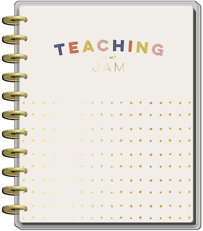 2021 Fresh Start Big Teacher Happy Planner - 12 Months