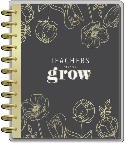 2021 Fancy Florals Big Teacher Happy Planner- 12 Months