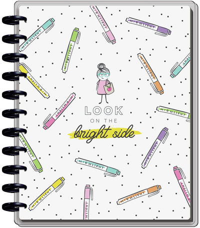 2021 Stick Girl Big Homeschool Happy Planner - 12 Months