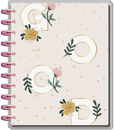 2021 Life is Good Big Teacher Happy Planner - 12 Months