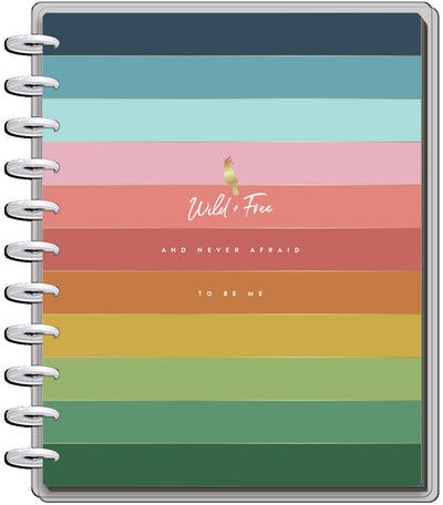 2021 Wild & Free Big Teacher Happy Planner - 12 Months