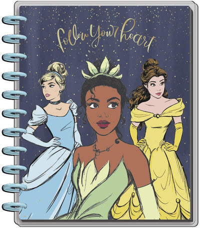 2021 Disney © Princess Strong at Heart Big Horizontal Happy Planner - 12 Months