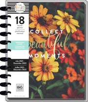 2021 Moody Florals Big Horizontal Happy Planner - 18 Months