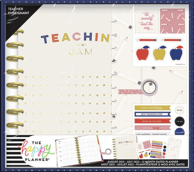 Fresh Start Big Teacher Planner Box Kit - 12 Months