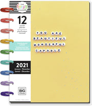 2021 Piece of Magic Classic Vertical Color Block Happy Planner® - 12 Months