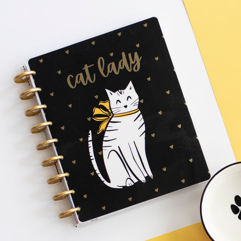 2021 Cat Lady Classic Vertical Happy Planner® - 12 Months