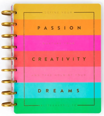 Define Your Passion Classic Vertical Happy Planner® - 12 Months