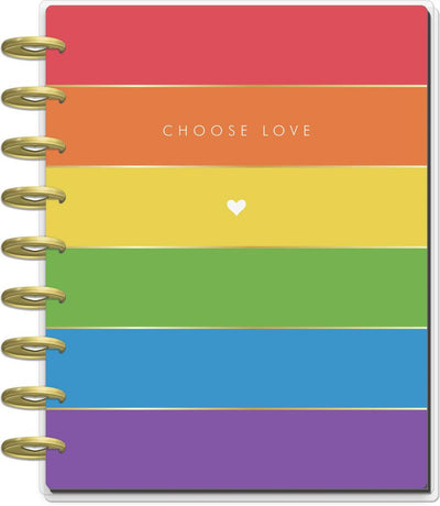 2021 Pride Classic Vertical Happy Planner - 12 Months