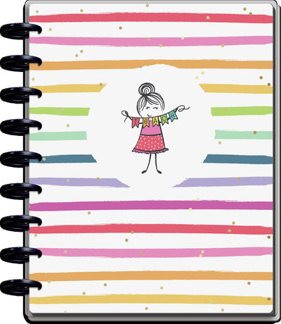 2021 Stick Girl Classic Teacher Happy Planner - 12 Months
