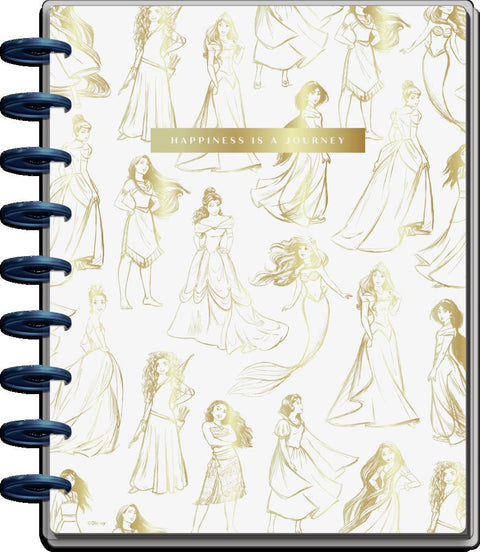2021 Disney © Princess Happiness Classic Colorblock Happy Planner - 12 Months