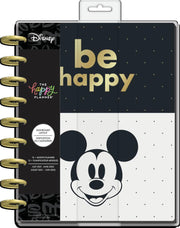 2021 Disney © Mickey Mouse Be Happy Classic Dashboard Happy Planner - 12 Months