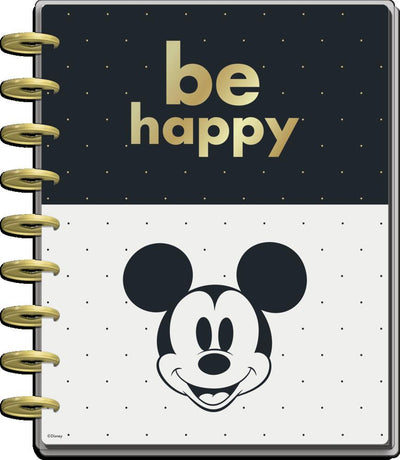 2021 Disney© Mickey Mouse Be Happy Classic Dashboard Happy Planner - 12 Months