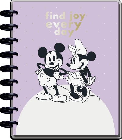 2021 Disney© Mickey Mouse & Minnie Mouse Joy Classic Vertical Happy Planner - 12 Months