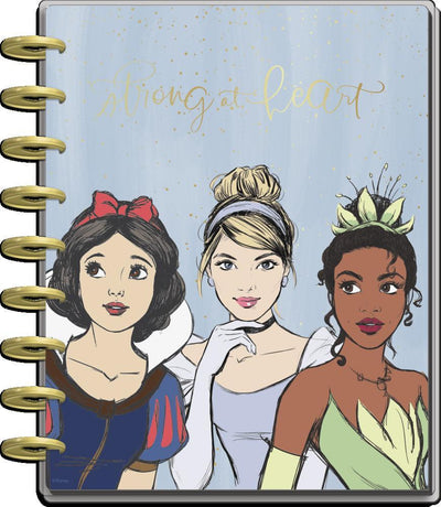 2021 Disney© Princess Strong at Heart Classic Horizontal Happy Planner - 12 Months