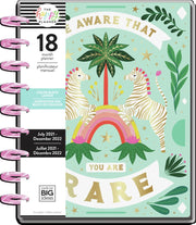 2021 Jungle Vibes Classic Colorblock Happy Planner - 18 Months