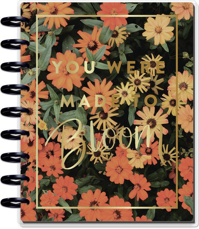 2021 Moody Florals Classic Vertical Happy Planner - 18 Months