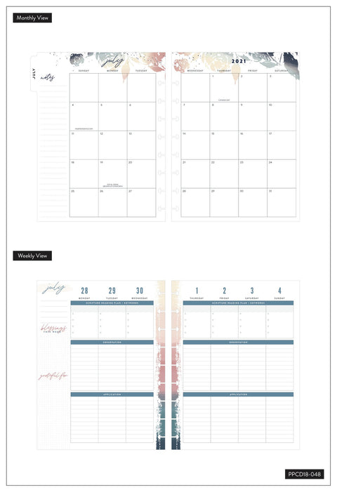 2021 Rejoice Classic Faith Happy Planner - 18 Months