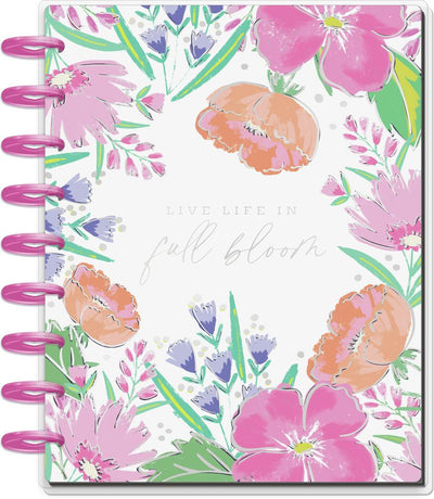 2021 Full Bloom Classic Vertical Happy Planner - 18 Months