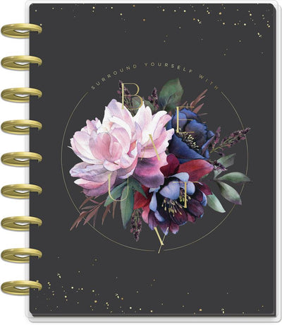 2021 Beauty In Florals Classic Vertical Happy Planner - 18 Months