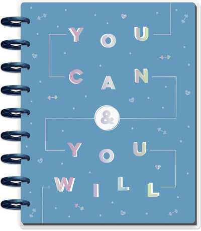 Undated You Can Classic Fitness Happy Planner - 12 Months