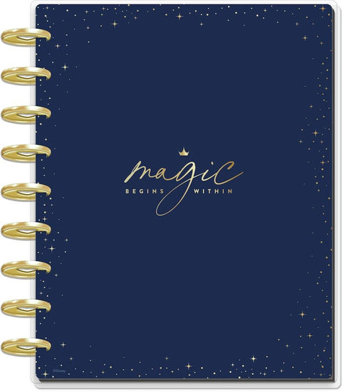 Undated Disney © Princess Magic Begins Within Classic Dashboard Happy Planner - 12 Months