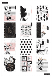 Undated Sparkle Minnie Mouse Classic Vertical Happy Planner - 12 Months