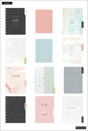 2021 Minimalist Deluxe Cover Classic Vertical Happy Planner® - 12 Months