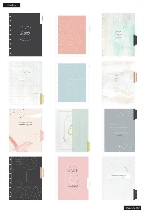 2021 Minimalist Deluxe Classic Vertical Happy Planner® - 12 Months