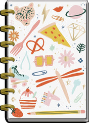 2021 Life In Doodles Mini Horizontal Happy Planner - 12 Months
