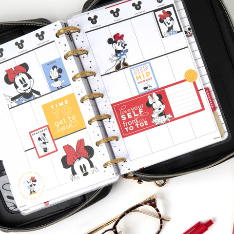 2021 Mickey Mouse Always Be True Mini Vertical Happy Planner - 12 Months