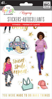 Sticker Sheets - Rongrong - Fitness