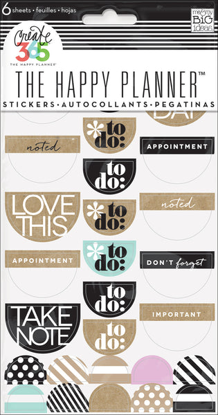 To Do Stickers - Neutral