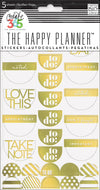 To Do Stickers - Gold Foil