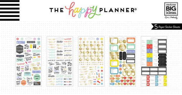 Fitness Planner Stickers