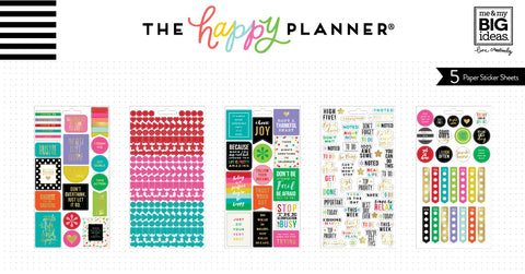 Planner Basics™ Stickers - Bright