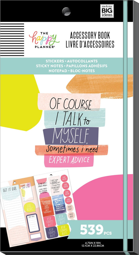 The Happy Planner Lol Quotes Accessory Book 539 Pieces NEW