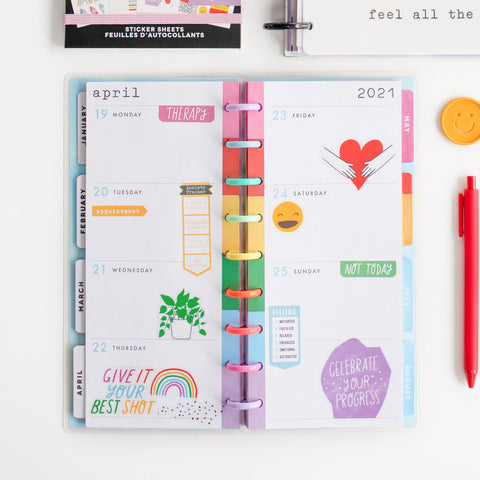 2021 All the Feels Skinny Classic Happy Planner® - 12 Months